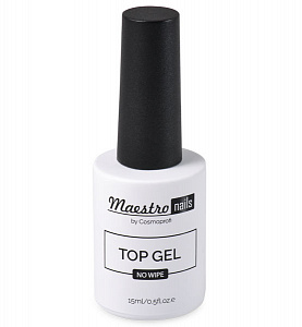 Top coat by Maestro nails, Top gel, 15 ml