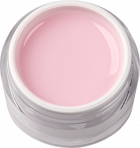 One phase building gel, Milky Pink